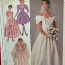 Butterick Sewing Pattern 4501 Ladies / Misses Wedding Dress Size 14-18 Uncut