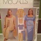 McCalls Sewing Pattern 4043 Womens Jacket Top Skirt Pants Size 26w-32w Uncut