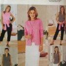 Butterick Sewing Pattern 3461 Ladies /Misses Top Skirt Shorts Size 8-12 Uncut