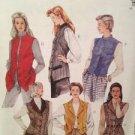 McCalls Sewing Pattern 7914 Ladies Misses Lined Vest Size 6-10 Uncut