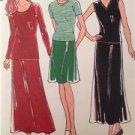 Kwik Sew Sewing Pattern 2619 Ladies Misses Skirts Tops Size XS-XL Uncut