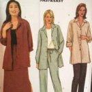 Butterick Sewing Pattern 3914 Ladies Shirt-Jacket Skirt Pants Size 8-12 Uncut