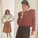 Simplicity Sewing Pattern 8297 Misses / Ladies Skirt Blouse Jacket Size 6 Uncut
