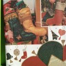 Simplicity Sewing Pattern 8995 Crafts Ornaments Stockings Treeskirt Xmas OS