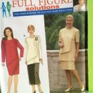 Simplicity Sewing Pattern 8063 Misses Ladies Dress Tunic Skirt Size 26W-32W