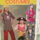 McCalls Sewing Pattern 5495 Childs / Girls Pirate Costumes Size 7-14 Uncut