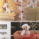 Simplicity Sewing Pattern 4187 Pet Beds Three Styles Canopy Uncut