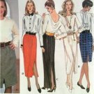 Simplicity Sewing Pattern 8747 Misses Ladies Set of Skirts Size L-XL
