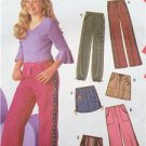 Simplicity Sewing Pattern 5322 Childrens Girls Pants Skirt  8 1/2- 16 1/2
