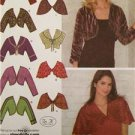 Simplicity Sewing Pattern 3921 Misses Boleros Capelets Size 16-24 Uncut