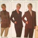 Simplicity Sewing Pattern 7906 Ladies Misses Jackets Size 12-16 Uncut