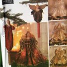 Simplicity Sewing Pattern 8925 Crafts Angel Tree oppers Ornaments Christmas OS