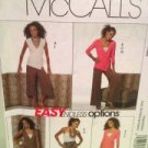 McCalls Sewing Pattern 5434 Ladies Misses Dress Top Pants Size 16-22 Uncut