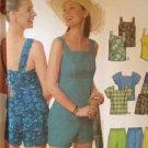 Simplicity Sewing Pattern 9752 Ladies / Misses Shorts Top Size 12-18 Uncut