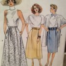 Vogue Sewing Pattern 9850 Ladies / Misses Skirt Size 14-18 Uncut