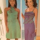 Simplicity Sewing Pattern 4525 Ladies Misses Skirt Top Purse Size 4-10 Uncut