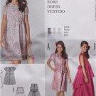 Burda Sewing Pattern 9465 Girls Childs Dress Size 7-12 Uncut