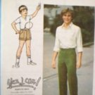 Sewing Pattern No 8879 Simplicity Boys & Teens Pants and Shorts Size 10