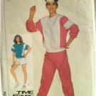 Simplicity Sewing Pattern 7670 Misses Ladies Pullover Top Pull on Pants Medium