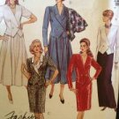 Sewing Pattern No 4593 McCalls Two Piece Dresses Size 10