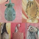 Vogue Sewing Pattern 7252 Five Beaded Lined Bags Uncut Accessories Fashion