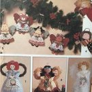 Simplicity Sewing Pattern 7549 Angel Tree Topper Standing Deocration Christmas