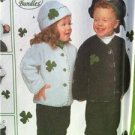 Simplicity Sewing Pattern 9126 Infant Toddlers Accessories Jacket Bip Hat All Sz