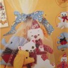 Simplicity Sewing Pattern 2945 Decorative Toys & Bag UC Elephant Cat Reprint VTG