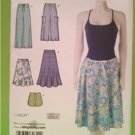 Simplicity Sewing Pattern 2611 Misses Pants Shorts and Skirts Size 8-14