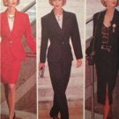 Butterick Sewing Pattern 6411 Misses Ladies Jacket Skirt Pants Size 12-16 Uncut