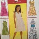 McCalls Sewing Pattern 5574 Girls Childs Dresses  Size 7-12 Uncut
