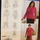 Simplicity Sewing Pattern 2598 Ladies / Misses Top & Wrap Size 26W-32W Uncut
