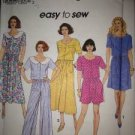Sewing Pattern No 8353 Simplicity Ladies Two Piece dress with Skirt Size 6-12
