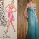 Simplicity Sewing Pattern 2640 Misses Evening Dress Size 6-14 Uncut