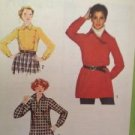 Sewing Pattern No 9100 Simplicity Ladies Pullover Tunic or Top Size 14