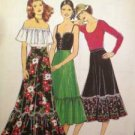 Sewing Pattern No 2135 Style Ladies Skirt in Two Lengths Size 10