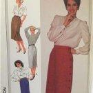 Simplicity Sewing Pattern 7660 Ladies Misses Set Slim Skirts Size 10 Uncut