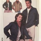 Simplicity Sewing Pattern 8177 Mens Misses Teens Jacket Size XS Uncut