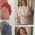 Simplicity Sewing Pattern 9818 Ladies Misses Shirts Size 12-16 Uncut