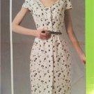 Vogue Sewing Pattern 1350 Misses Ladies Dress Size 6-14 Rachel Comey Uncut