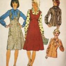 Sewing Pattern No 6528 Simplicity Ladies Jumper Blouse and Scarf Size 14