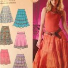 Simplicity Sewing Pattern 0593/4279 Ladies / Misses Skirts Size 10-18 Uncut