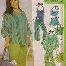 Simplicity Sewing Pattern 5073 Ladies / Misses Tops Pants Size 26W-32W Uncut