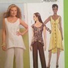 Butterick Sewing Pattern 5227 Ladies Misses Top Tunic Dress Pant Size 14-20 UC