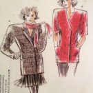 Sewing Pattern No 1759 Kwik Sew Ladies Double Breasted Jacket Size 6-12