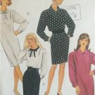 McCalls Sewing Pattern 5667 Ladies Misses One Two Piece Dress Size 10-14 Uncut