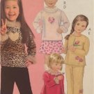 McCalls Sewing Pattern 5173 Girls Childs Top Dres Skirt Pants Size 2-5 Uncut