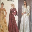 Sewing Pattern No 9045 Simplicity Ladies Costume Dresses Size 6-12