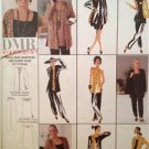 McCalls Sewing Pattern 9630 Ladies Misses Cardigan Tunic Scarf Size 4-6 Uncut