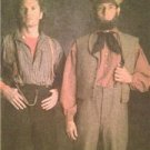 Simplicity Sewing Pattern 5023 Mens Shirts Pants Historical Costumes Size 38-44
